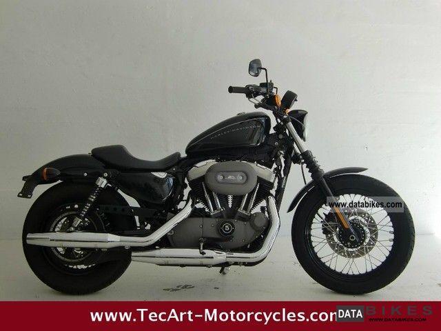 2010 Harley Davidson  2010s Sportster 1200 black NIGHTSTER Motorcycle Chopper/Cruiser photo