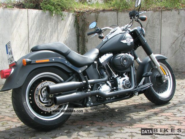 2012 Harley Davidson  -Later Fat Boy Special Motorcycle Chopper/Cruiser photo