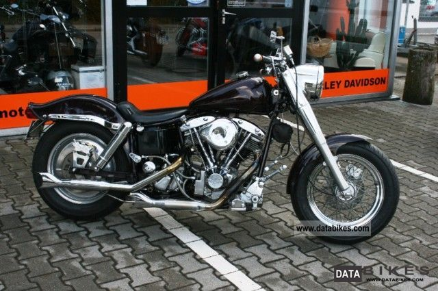 1978 Harley Davidson  FXS Motorcycle Chopper/Cruiser photo