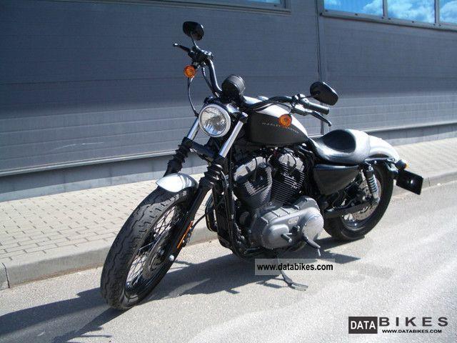 2008 Harley Davidson  XL1200N Motorcycle Chopper/Cruiser photo