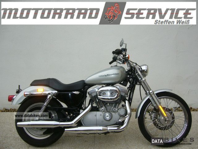 2004 Harley Davidson  XL 883 Sportster Custom dealer warranty Motorcycle Chopper/Cruiser photo