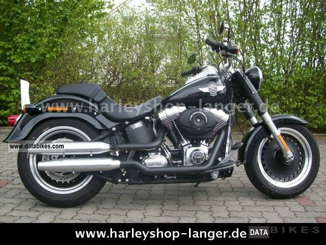 2011 Harley Davidson  -Later Fat Boy model 2012 Special Motorcycle Chopper/Cruiser photo