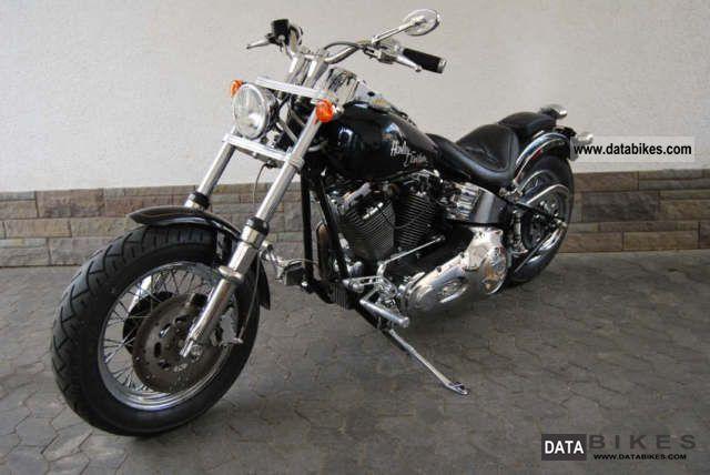 1998 Harley Davidson  FXST BIG BOY MOTORCYCLES Motorcycle Chopper/Cruiser photo