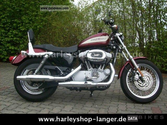 2005 Harley Davidson  XL Sportster 1200 Motorcycle Chopper/Cruiser photo