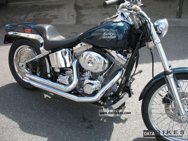 2002 Harley Davidson  FXSTC Softail Custom Motorcycle Chopper/Cruiser photo