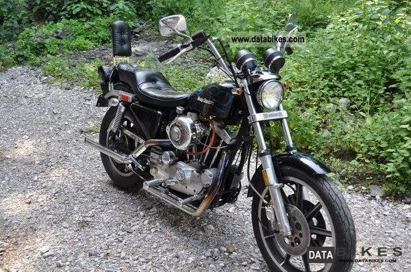 Harley Davidson  1000 Sportster Ironhead Sporty new technical approval 1979 Vintage, Classic and Old Bikes photo