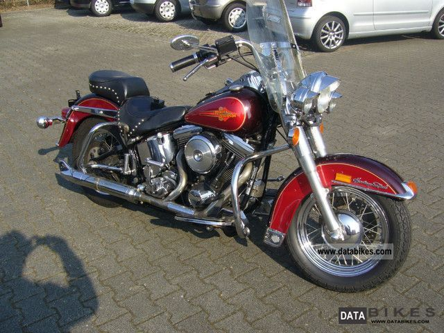 1979 Harley Davidson  Heritage Softail 4862 until EA GERMAN KM Motorcycle Chopper/Cruiser photo