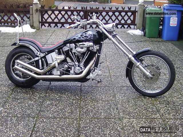 2004 Harley Davidson  Softail Motorcycle Chopper/Cruiser photo