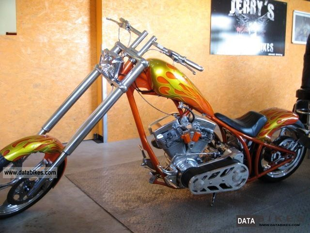 2005 Harley Davidson  Custom Bike, High Ecker, arrow, Penz Motorcycle Chopper/Cruiser photo