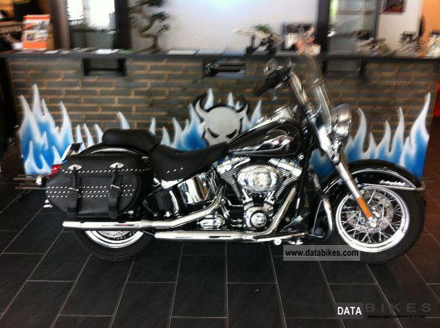 2009 Harley Davidson  FLSTC Heritage Motorcycle Chopper/Cruiser photo