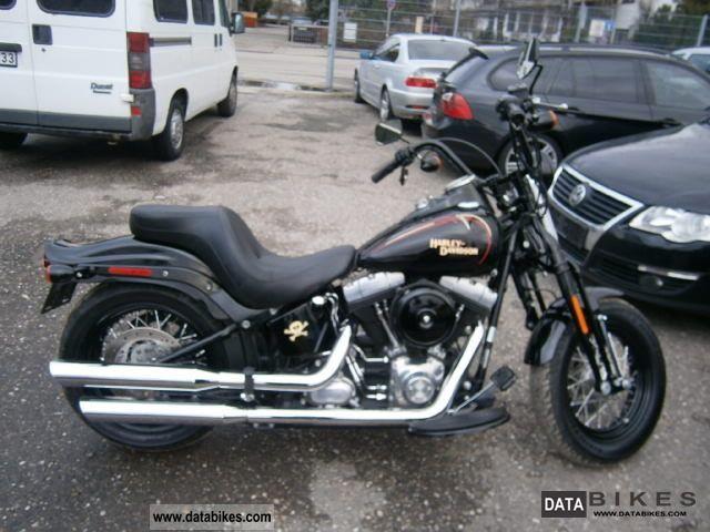 2009 Harley Davidson  Springer Softail Cross Bones Motorcycle Chopper/Cruiser photo