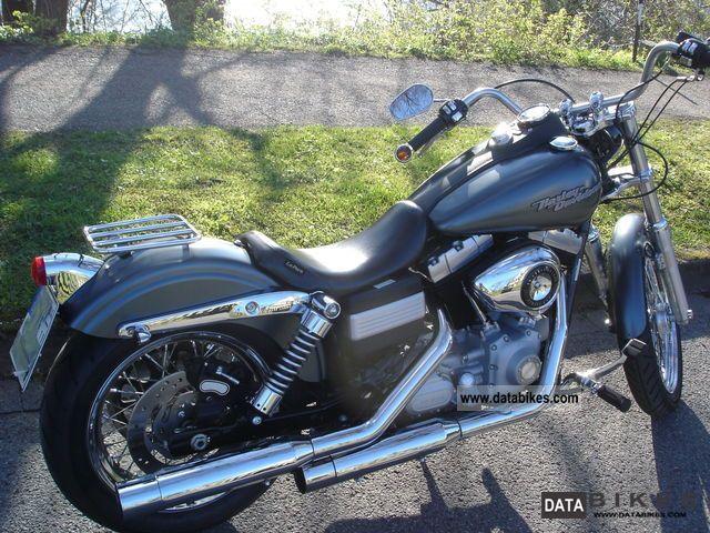 2008 Harley Davidson  Street Bob Motorcycle Chopper/Cruiser photo