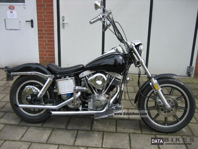 Harley Davidson  FXE 1340 1979 Vintage, Classic and Old Bikes photo