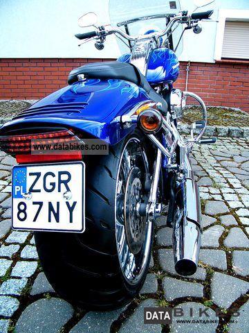 2009 Harley Davidson  CVO Softail Springer Motorcycle Chopper/Cruiser photo