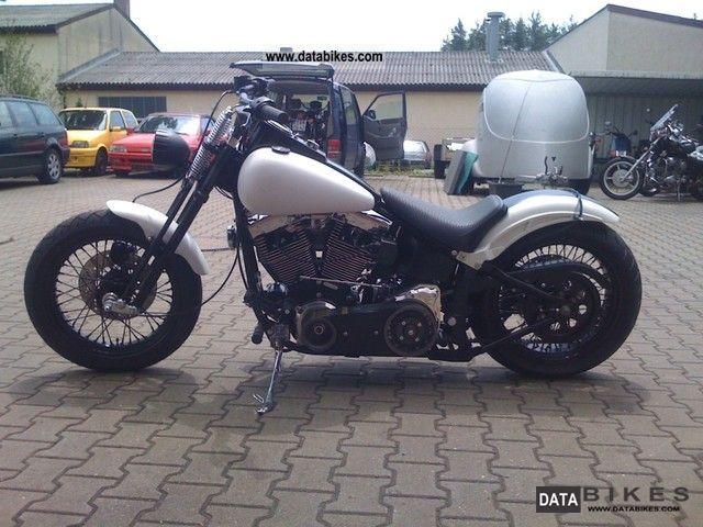 1989 Harley Davidson  Softtail Motorcycle Chopper/Cruiser photo