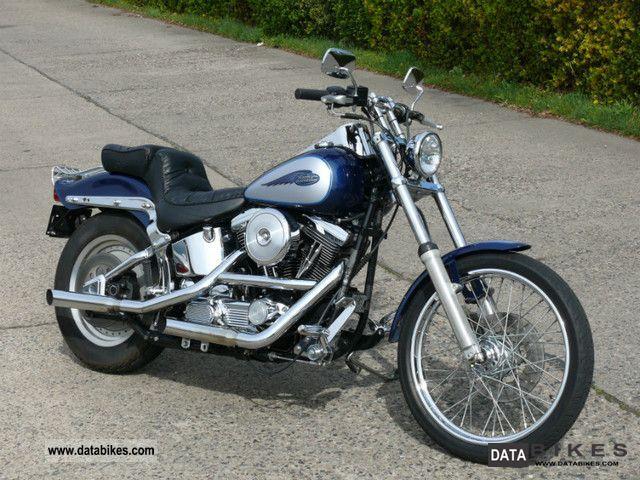1999 Harley Davidson  Softail Custom! Evo! Motorcycle Chopper/Cruiser photo
