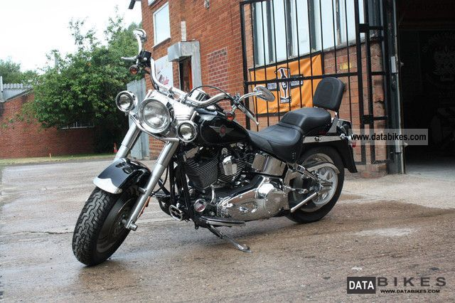 2004 Harley Davidson  FATBOY FUEL INJECT FLSTFI Motorcycle Chopper/Cruiser photo