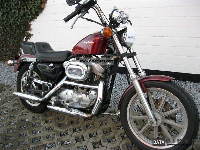 1988 Harley Davidson Xl 883 Sportster 4 Speed Chain border=
