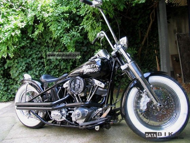 1954 Harley Davidson  FL Motorcycle Chopper/Cruiser photo