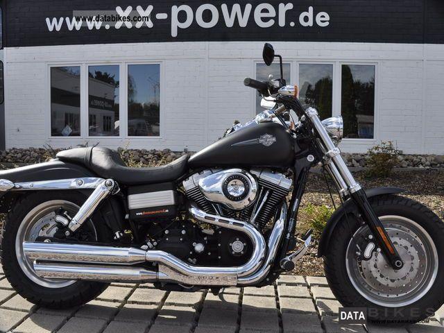 2009 Harley Davidson  Fat Bob Nr190 Motorcycle Chopper/Cruiser photo