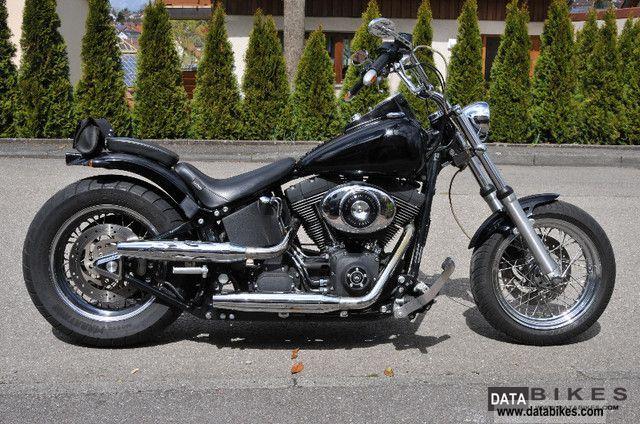 2001 Harley Davidson  Softail Night Train Motorcycle Chopper/Cruiser photo