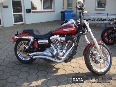 2008 Harley Davidson  FXDC Super Glide Motorcycle Motorcycle photo