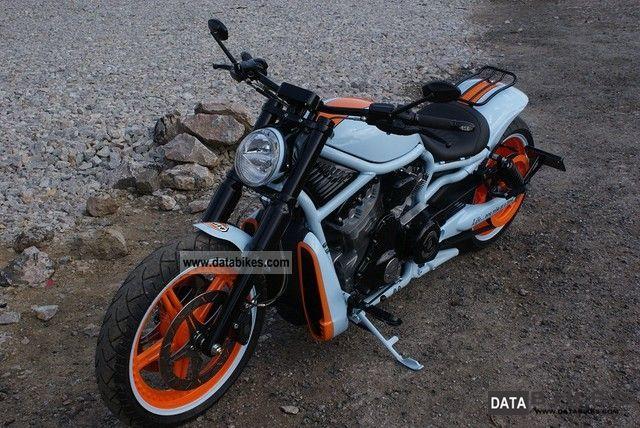 2011 Harley Davidson  V-ROD VRSC GULF Ricks Exclusive Parts Motorcycle Chopper/Cruiser photo