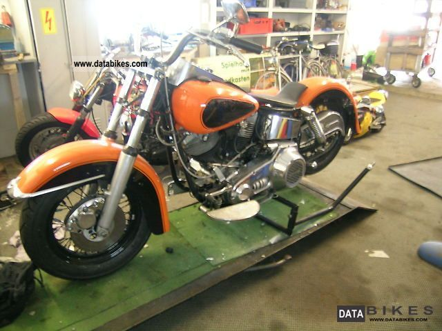 Harley Davidson  E-Glide 1977 Vintage, Classic and Old Bikes photo