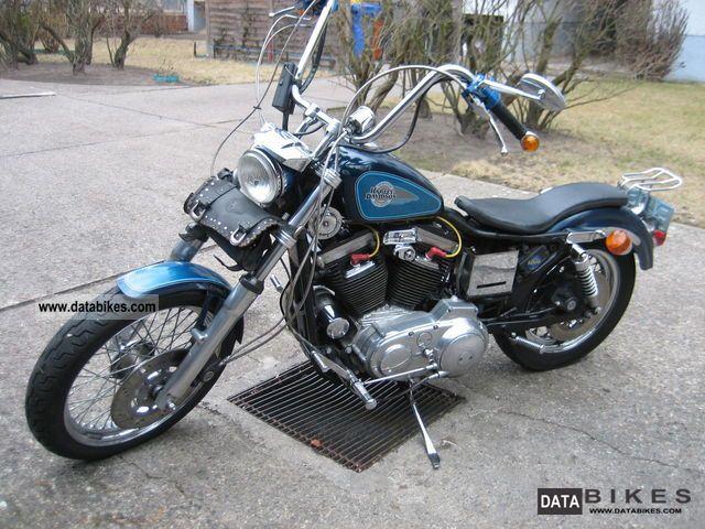 1991 Harley Davidson  Sporty XL / 2 Motorcycle Chopper/Cruiser photo