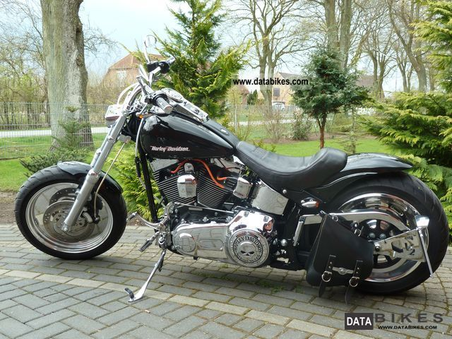 2008 Harley Davidson  Softail Custom Motorcycle Chopper/Cruiser photo