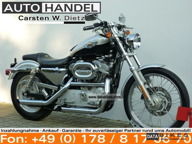 2003 Harley Davidson  XL Sportster 883 Custom 100th! Anniversary! Motorcycle Chopper/Cruiser photo
