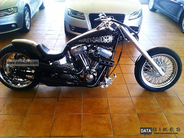 2006 Harley Davidson  Dragstyle Motorcycle Chopper/Cruiser photo