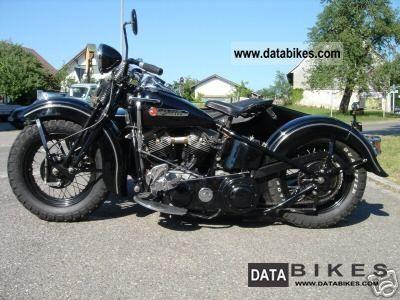 Harley Davidson  Panhead sidecar 1948 Vintage, Classic and Old Bikes photo