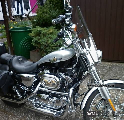 2003 Harley Davidson  Sportster 1200 CA Motorcycle Chopper/Cruiser photo