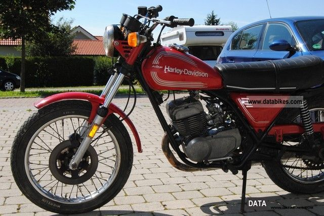 Harley Davidson  AMF 250 SST 1977 Vintage, Classic and Old Bikes photo
