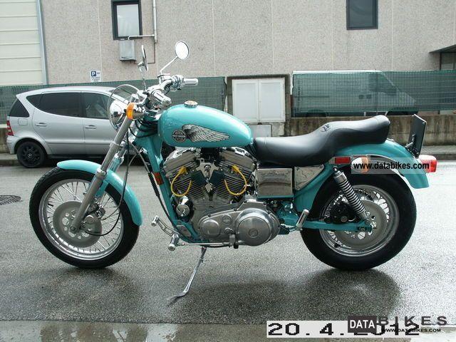 1992 Harley Davidson  XLH 883 Sportster 1986 Motorcycle Chopper/Cruiser photo