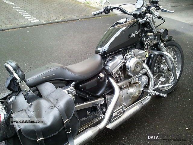 1996 Harley Davidson  XL / 2 Sportster Hugger Motorcycle Chopper/Cruiser photo
