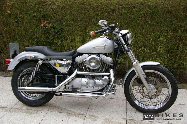 1991 Harley Davidson  Sportster 883 XL / 2 Motorcycle Motorcycle photo
