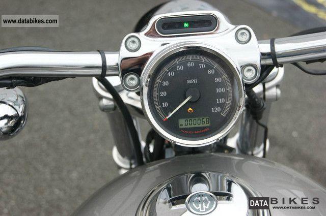 2010 Harley Davidson XLC 1200 Sportster Custom