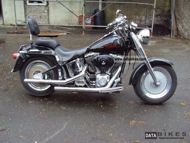 2000 Harley Davidson Flstf Softail Fat Boy Chopper Bike Fatboy