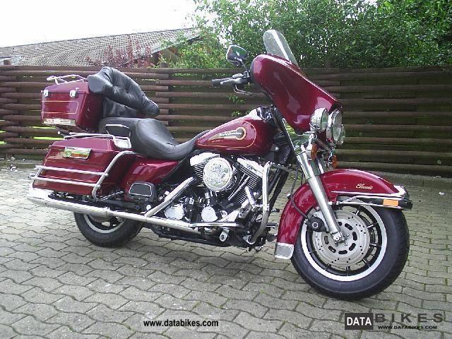 1997 Harley Davidson  FLHTCI Electra Glide Classic Motorcycle Chopper/Cruiser photo