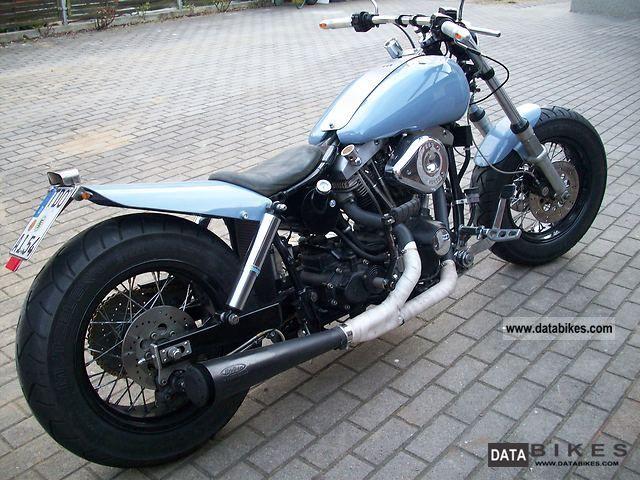 1983 Harley Davidson  Shovel FXWG Motorcycle Chopper/Cruiser photo