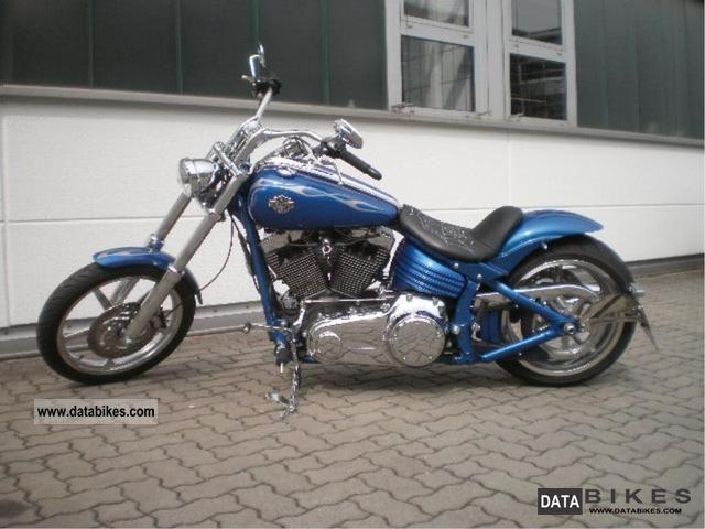 2008 Harley Davidson  Softail Rocker C Motorcycle Chopper/Cruiser photo