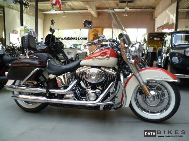 2005 Harley Davidson  De Luxe finish retro lots of accessories Motorcycle Chopper/Cruiser photo