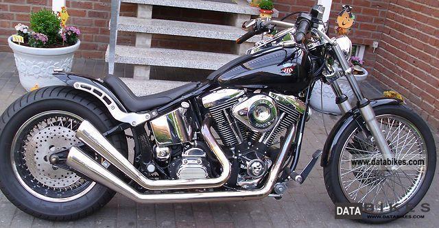 Harley Davidson  FXST 2000 Chopper/Cruiser photo