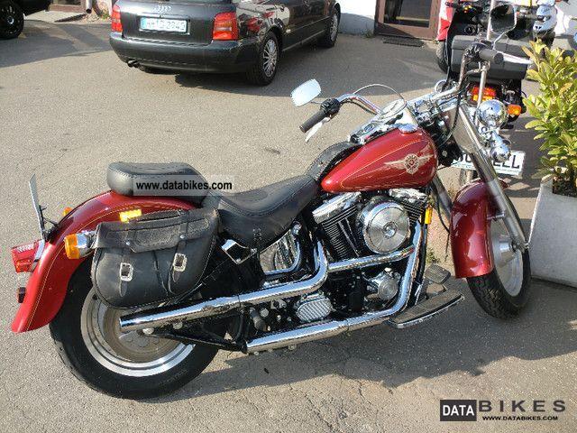 1998 Harley Davidson  Softail Fat Boy 1340 from 1.Hand! Motorcycle Chopper/Cruiser photo