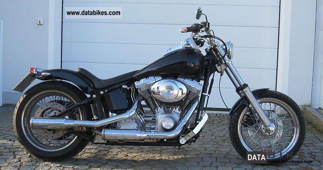 Harley Davidson  FXST Softail Standard Conversion 2003 Chopper/Cruiser photo