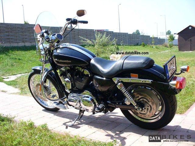 2007 Harley Davidson  XL1200C Sportster Custom Motorcycle Chopper/Cruiser photo