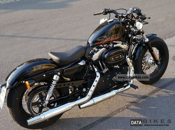 2011 Harley Davidson Forty Eight 48 The Black As New Chopper Bike  D