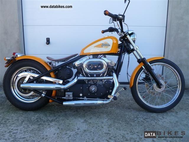 1988 Harley Davidson Sportster Hardtail Chopper Bike